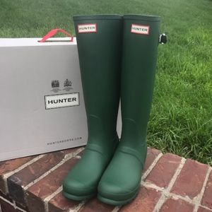 hunter original adjustable back boots new in box